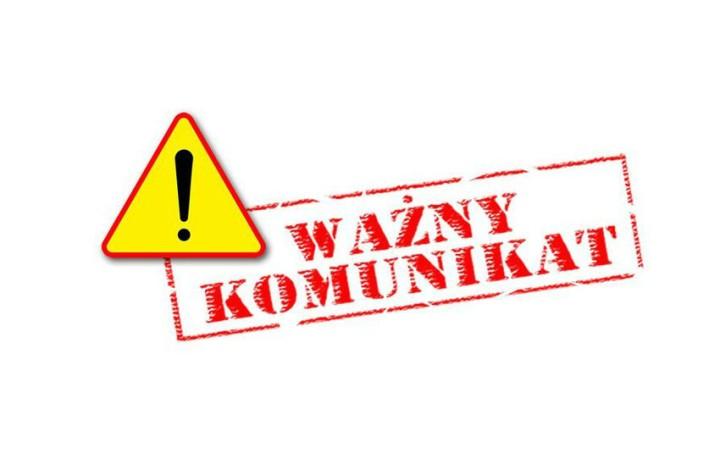 UWAGA! Komunikat dotyczący pracy Biura LGD w dniach 29.06-1.07.2020r.