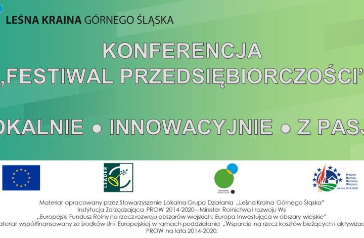 """Konferencja pn. """"Festiwal Przedsiębiorczości"""""""