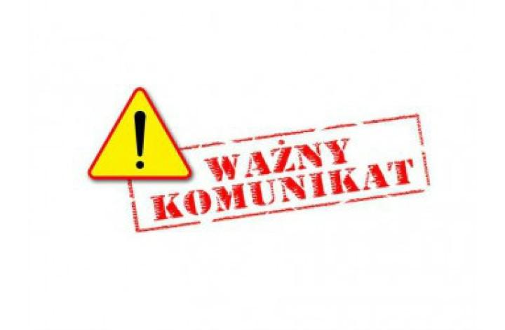 UWAGA! Komunikat dotyczący pracy Biura LGD w dniach 25.05-26.06.2020r.